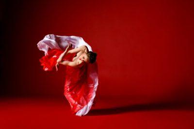 Noelle Kayser in Dance for Life. Photo: Todd Rosenberg