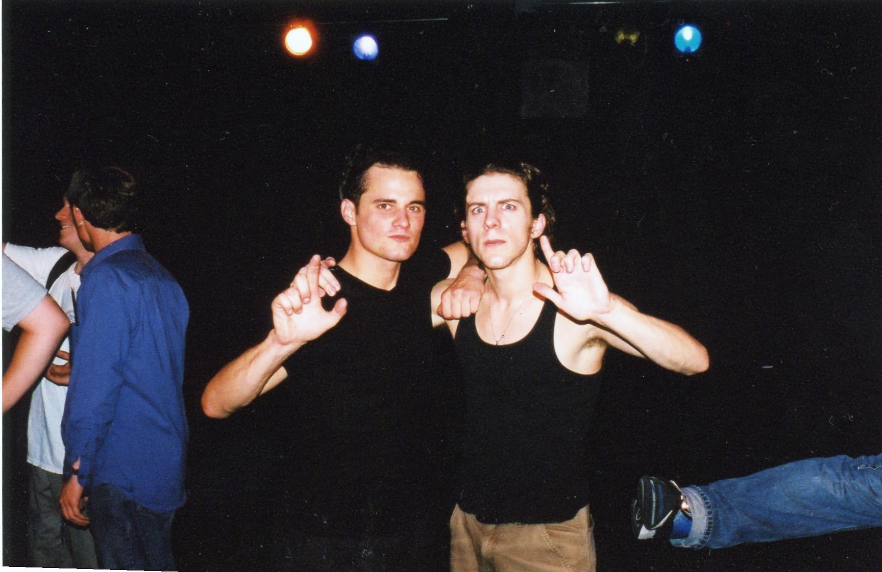 Charlie Cutler and Mark Hackman September 2002 (Photo by Garry Cutler)