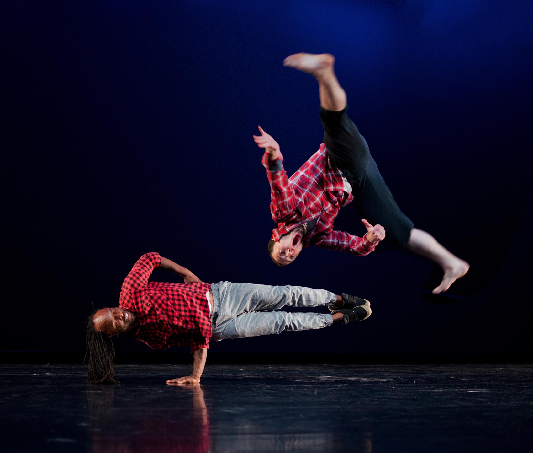 Chicago Dance Crahs's Daniel Gibson and Brian Humpherys (Photo by Ashley Deran)