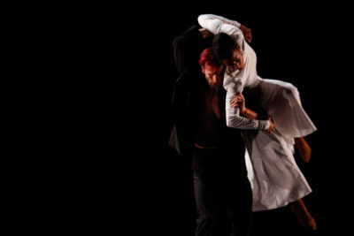 "Manuel Vignoulle and Rena Butler in ""Black & White"" at Jackson Hole (Photo courtesy of Manuel Vignoulle)"