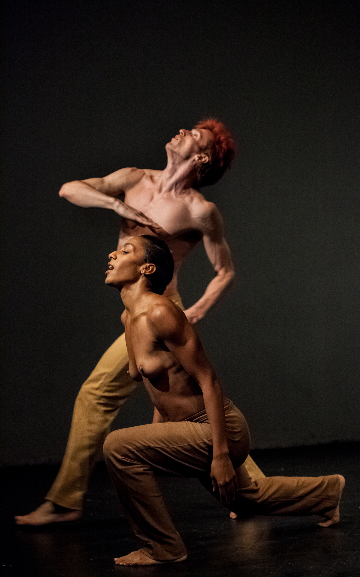"""Rena Butler and Manuel Vignoulle in """"Black & White"""" (Photo by Marc Schreiner)"""
