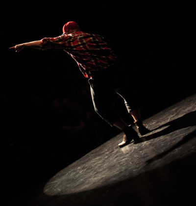 Chicago Dance Crash's Richard Ashworth (Photo by Ashley Deran)