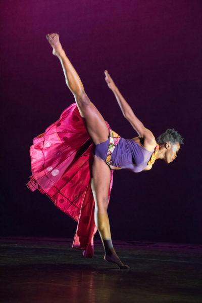 "Nicole Clarke-Springer's ""Femme"" (Photo by Ken Carl)"