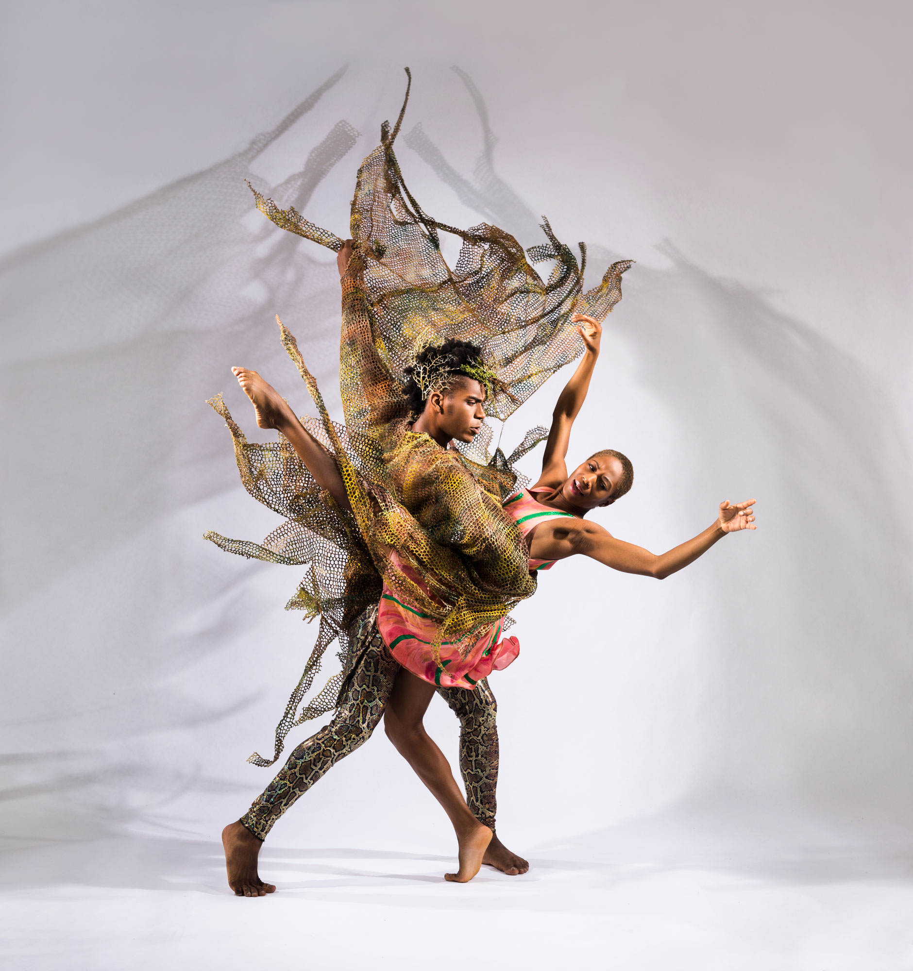 """Deeply Rooted Dance Theater in Kevin Iega Jeff's """"In a Child's Eye"""" (Photo by Ken Carl)"""