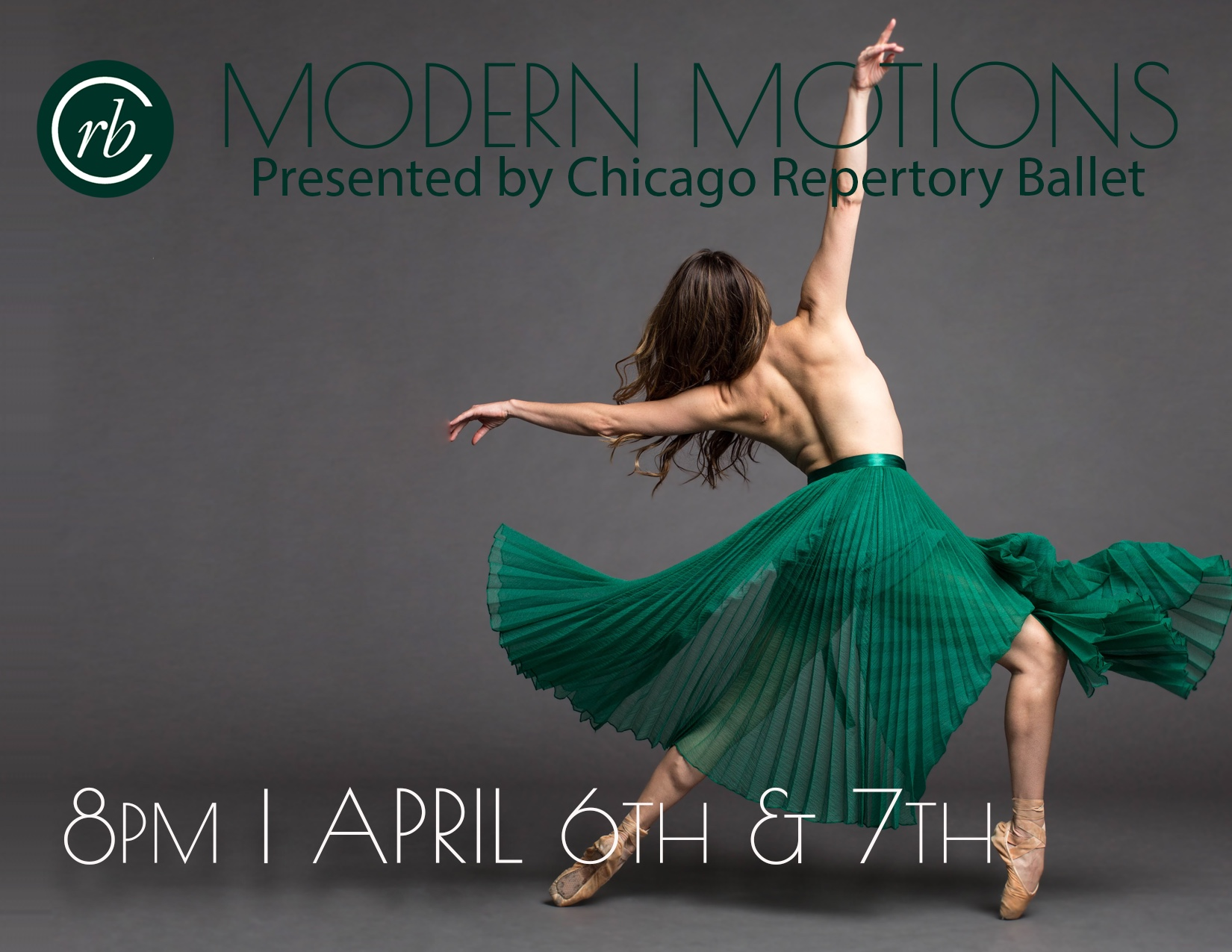 "Chicago Repertory Ballet ""Modern Motions"" (Photo by Cheryl Mann)"