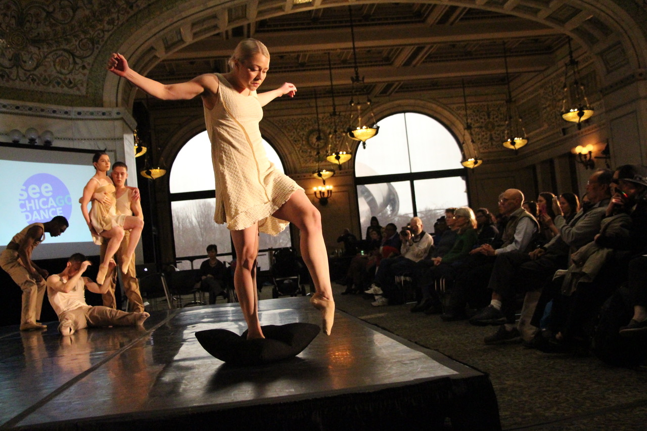 Visceral Dance Chicago at See Chicago Dance (Photo by Andy Flaherty)