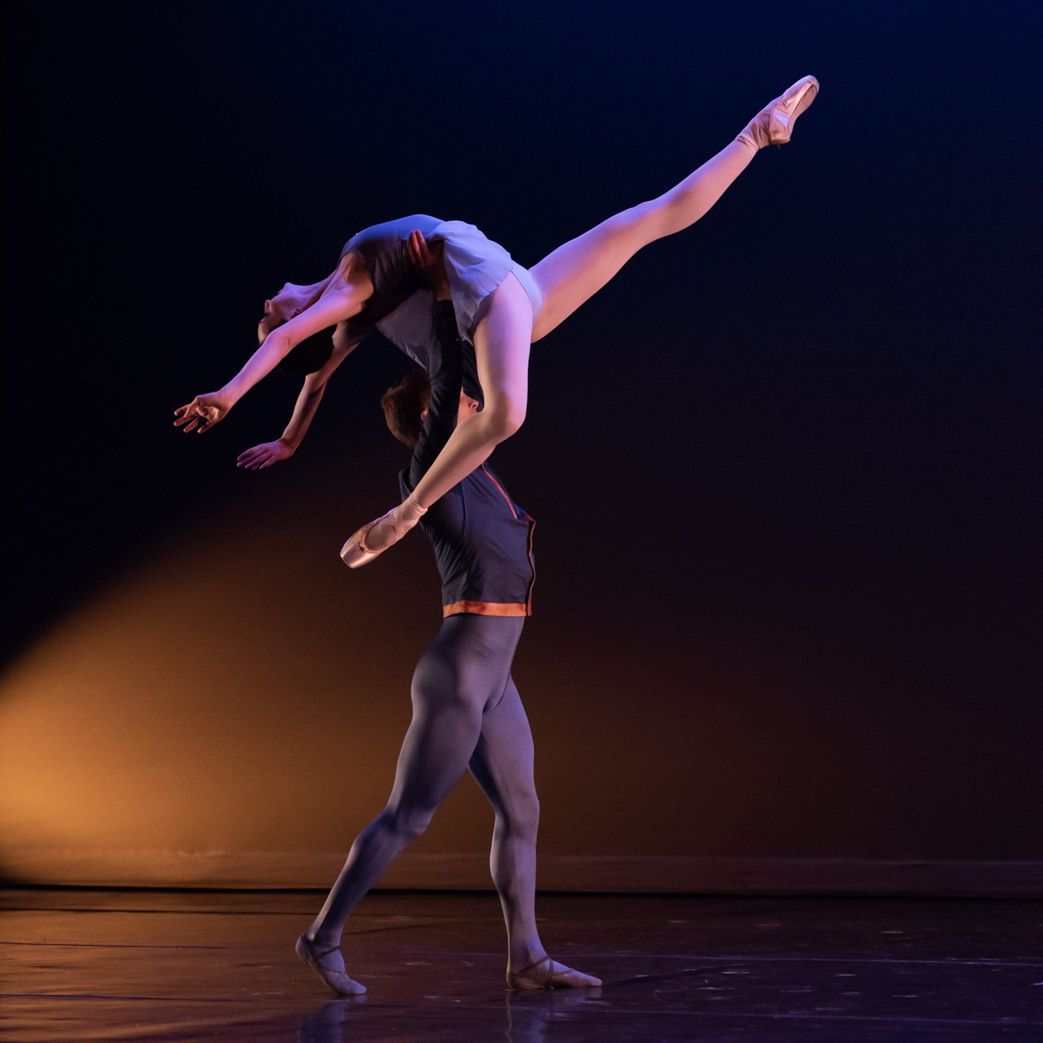 Chicago Repertory Ballet's Miriam-Rose LeDuc and Django Allegretti (Photo by Topher Alexander)