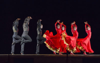 Ensemble Espanol performing Bolero (Photo by Cheryl Mann)