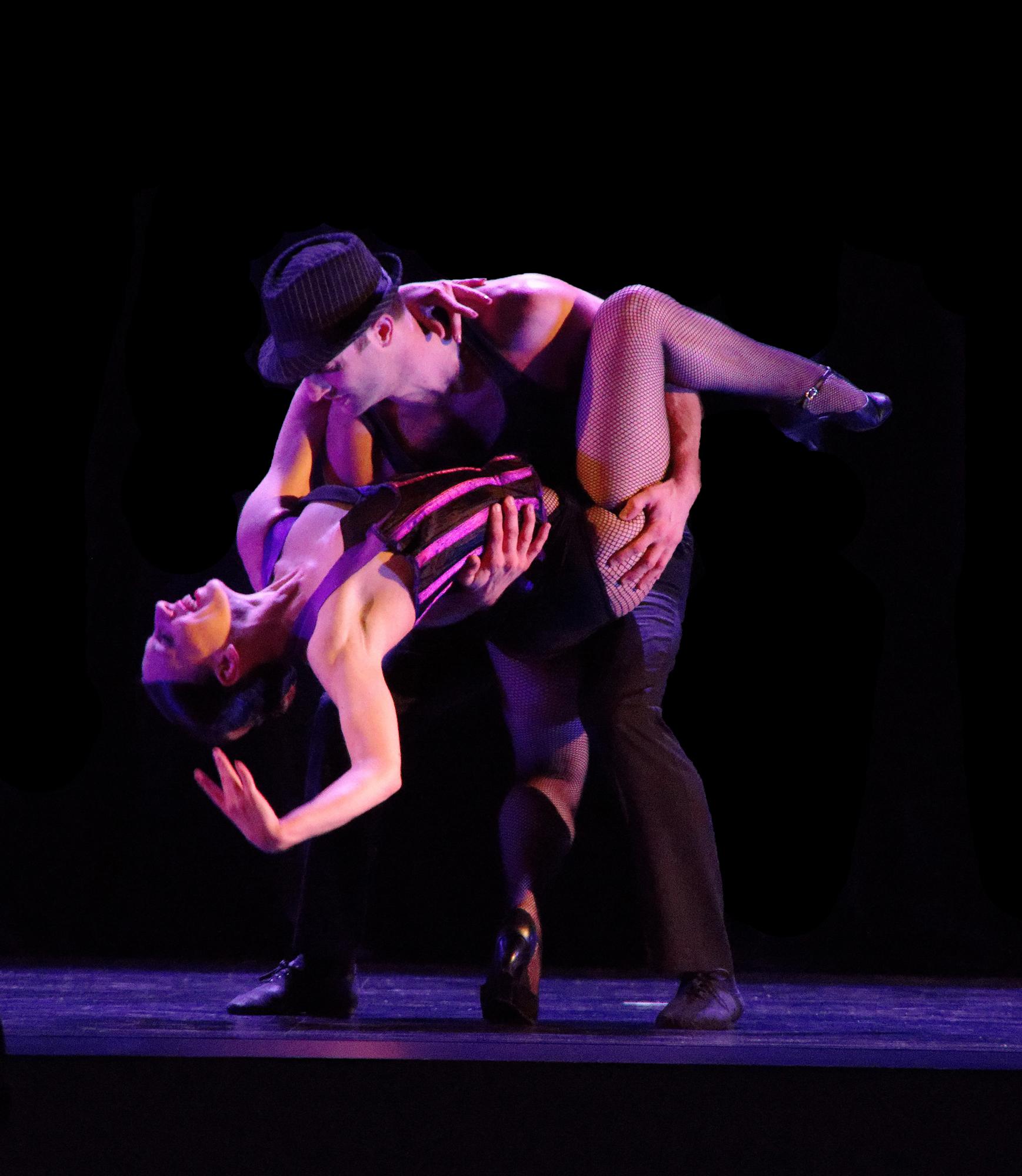 "Maeghan McHale & Zachary Heller in Giordano Dance Chicago's ""Feelin' Good Sweet"" (Photo courtesy of Giordano Dance Chicago)"