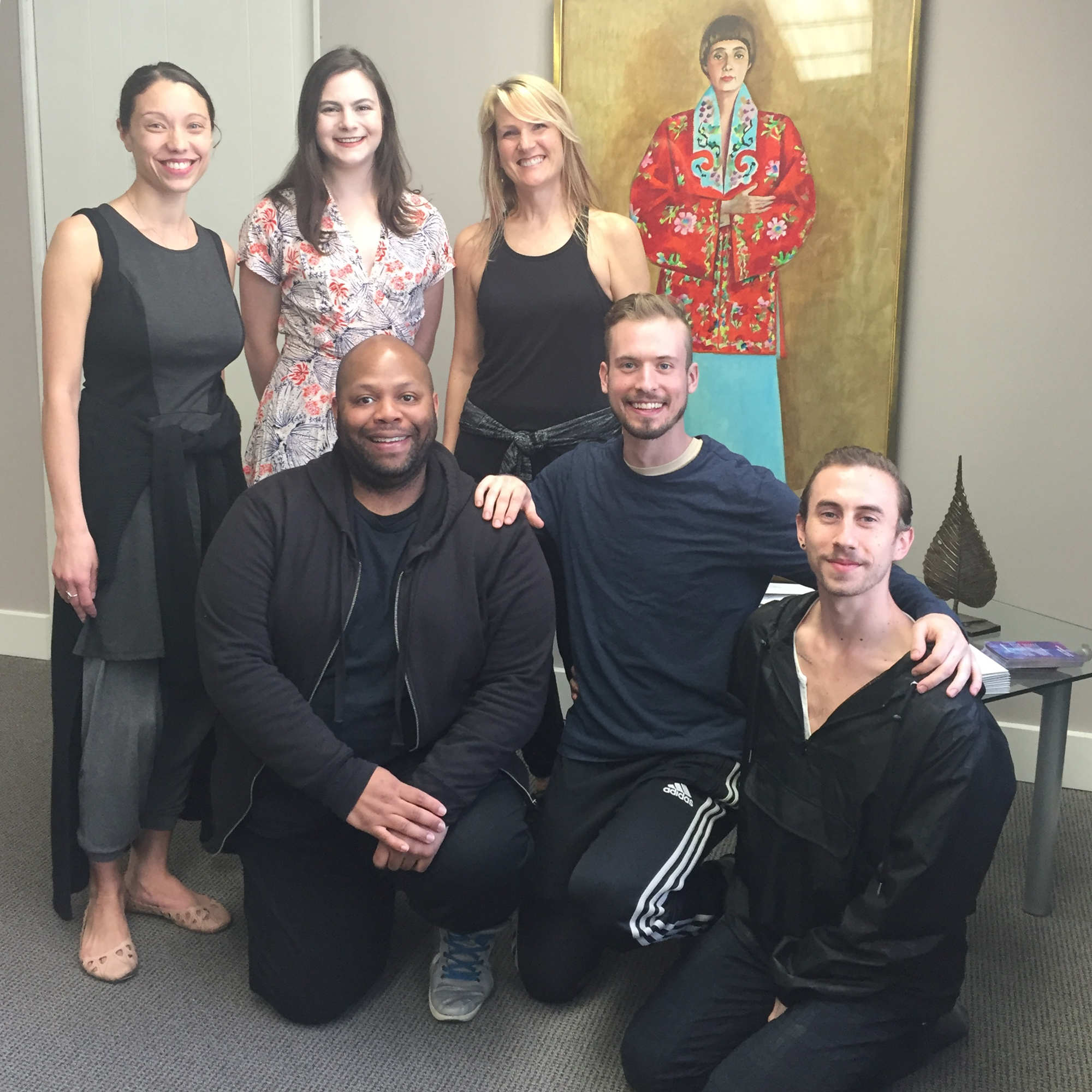 New Dances Choreographers (Courtesy of DanceWorks Chicago and Thodos Dance Chicago))