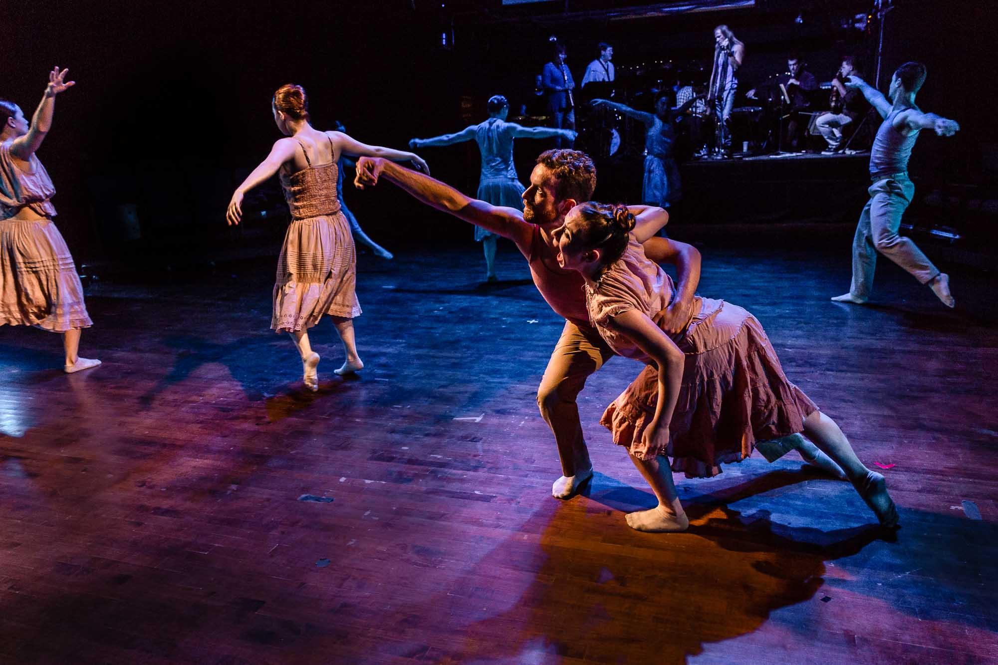 Cerqua Rivera Dance Theatre in American Catracho (Photo byDan Kasberger)