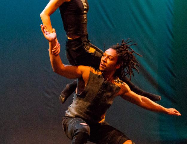 Chicago Dance Crash's KC Bevis and Elijah Motley (Photo by Philamanjaro)