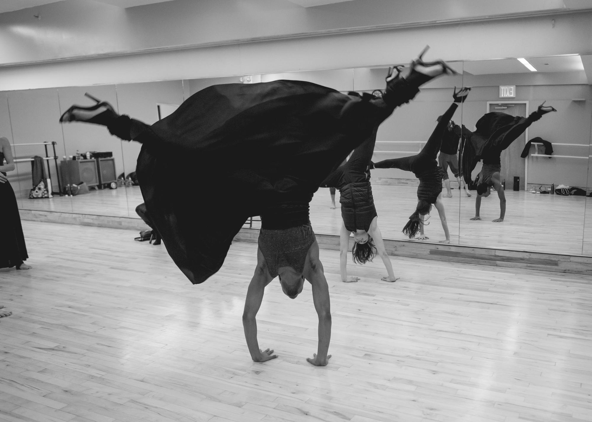 Alessandra Corona Performing Works (Photo by Natalia Bougadellis)